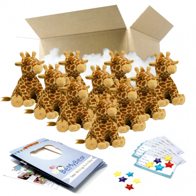 "Jerry Giraffe 16"" Party Pack"