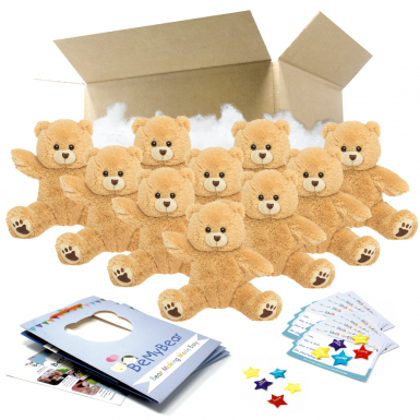 "Scruffy Bear 16"" Party Pack"