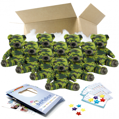 "Camo Bear 16"" Party Pack"