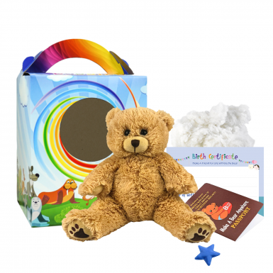 "Scruffy Bear 8"" Travel Ted"