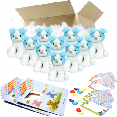 """Koda The Puppy 8"""" Party Pack"""