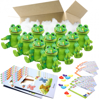"""Funky Frog 8"""" Party Pack"""