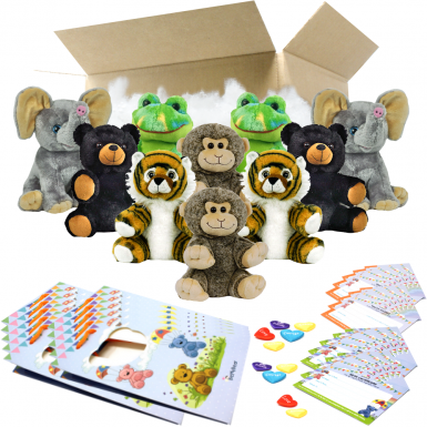 "Jungle 8"" Party Pack"