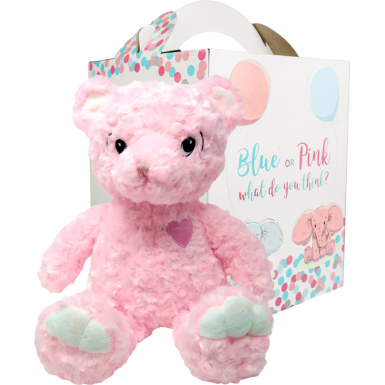"Princess 16"" Gender Reveal Bear"