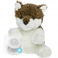 "Wiley Wolf 8"" Baby Heartbeat Bear"