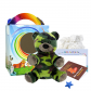 "Camo Bear 8"" Travel Ted"
