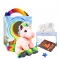 "Pretty Pink Pony 8"" Travel Ted"