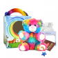 "Rainbow Drop 8"" Travel Ted"