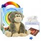 "Smiley Monkey 16"" Travel Ted"