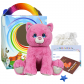 """Winnie the Pink Kitty 16"""" Travel Ted"""