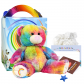"Rainbow 16"" Travel Ted"