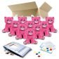 """Blush the Pink Kitty 8"""" Party Pack"""