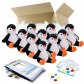"Poppy Penguin 16"" Party Pack"