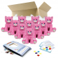 """Winnie the Pink Kitty 16"""" Party Pack"""