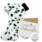 "Dalmatian 16"" Message Bear"