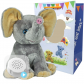 "Ellie Elephant 16"" Baby Heartbeat Bear"