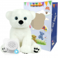 "Polar Bear 16"" Baby Heartbeat Bear"