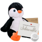 "Poppy Penguin 16"" Message Bear"