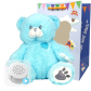 "Blue Bear 16"" Baby Heartbeat Bear"