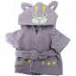 "Bear Bath Robe (Lilac) 16"" Outfit"