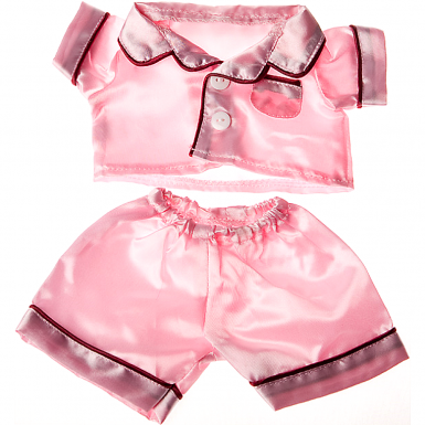 Satin Pink Pj's 8