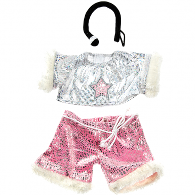 """Pink Rock Star 8"""" Outfit"""
