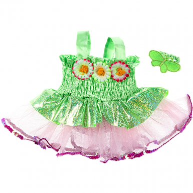 """Deluxe Fairy Dress 16"""" Outfit"""