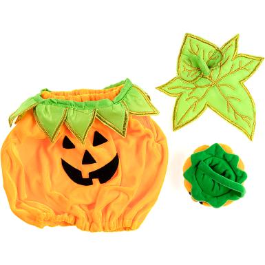 """Halloween Pumpkin 16"""" Outfit"""