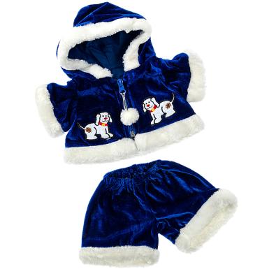 "Winter Fur Coat Set 16"" Outfit"