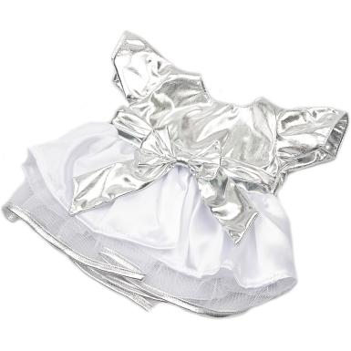 """Silver & White Party Dress 12"""""""
