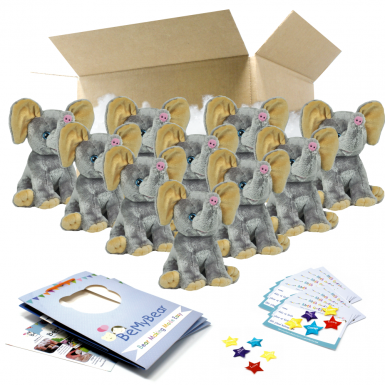 """Ellie Elephant 16"""" Party Pack"""