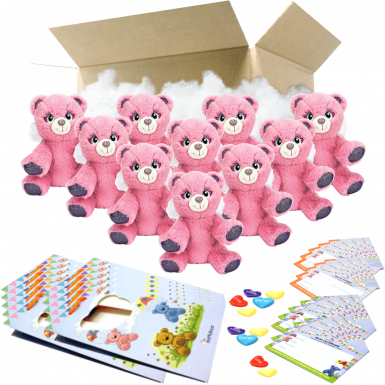 "Angel Bear 8"" Party Pack"