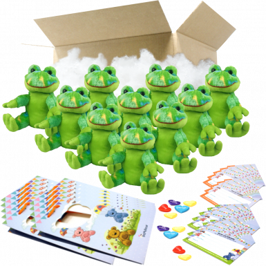 "Funky Frog 8"" Party Pack"