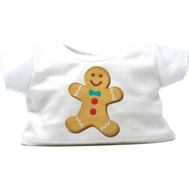 "Gingerbread Man 16"" Christmas T-Shirt"