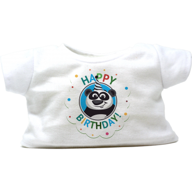 "Happy Birthday Panda 16"" T-Shirt"