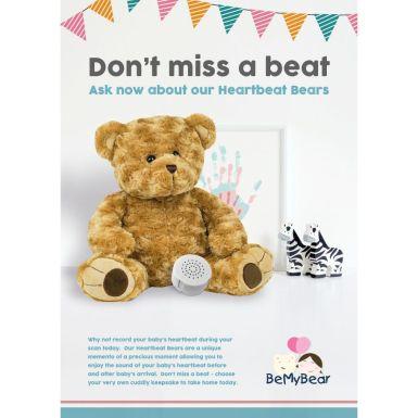 Heartbeat Bear Poster