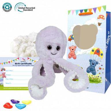 """Ozzy the Eco Octopus 8"""" Kit"""