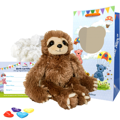 "Slumber the Sloth 8"" Animal Kit"