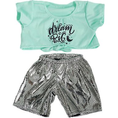 "Knotted T-shirt and Leggings 16"" Outfit"