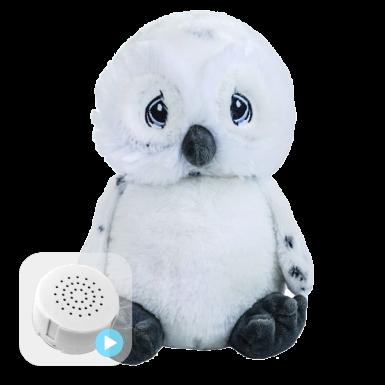 "Owl 8"" Baby Heartbeat Bear"