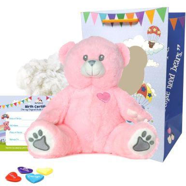 """Pink Bear 16"""" Bear Kit"""