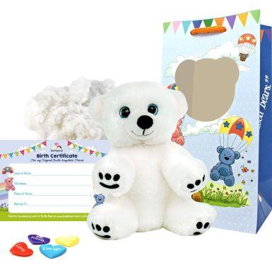 "Snowy Polar Bear 8"" Bear Kit"