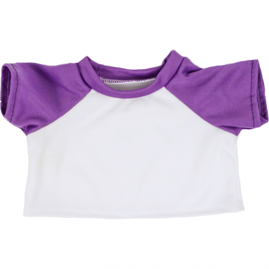 "White & Purple 16"" T-Shirt"