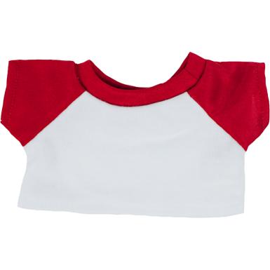 "White & Red 8"" T-Shirt"