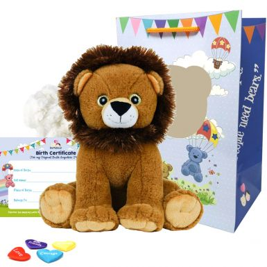 "Sir Roaralot Lion 16"" Animal Kit"