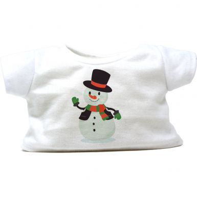 """Frosty the Snowman 16"""" Christmas T-Shirt"""