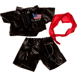 """USA Easy Rider 8"""" Outfit"""
