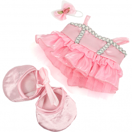 """Pink Ballerina 8"""" Outfit"""