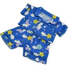 "Blue PJ's 8"" Outfit"