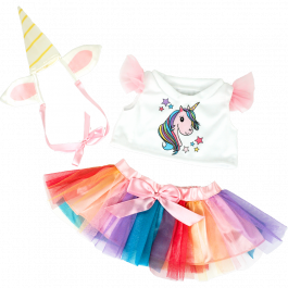 """Unicorn 16"""" Outfit"""